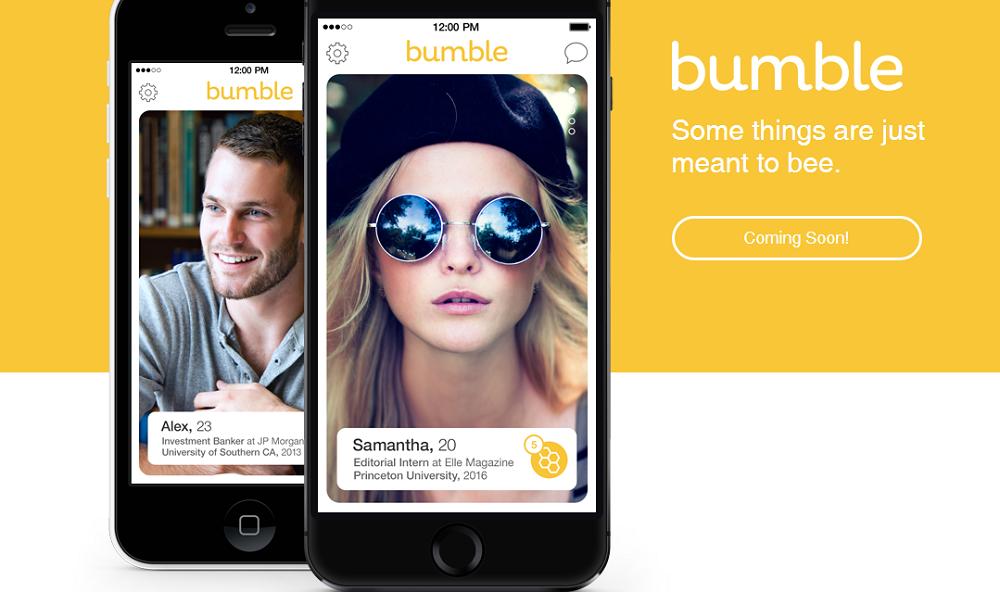 Tinder元社員が新しいiPhone用恋活アプリ「Bumble(バンブル)」を立ち上げ話題に!