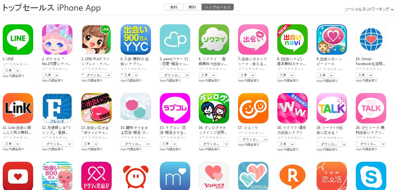 App Store週次ランキング(5/18) ソクアイが急上昇