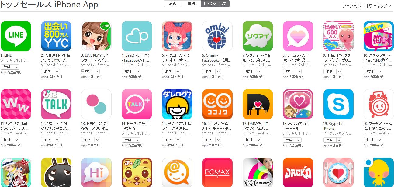 App Store週次ランキング(10/27) ラブコレ3週間ぶりにトップ10入り