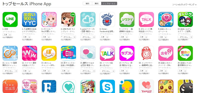 App Store週次ランキング(2/23) ぽけっとチャットが上昇中