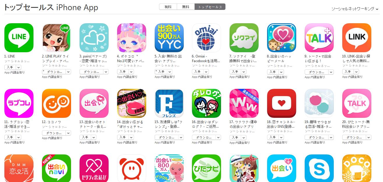 App Store週次ランキング(4/20) ソクアイが7位に上昇