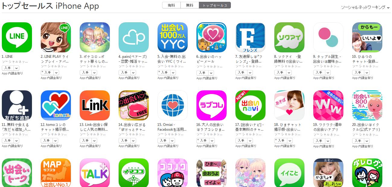App Store週次ランキング(8/31) ひみつのチャットが急上昇